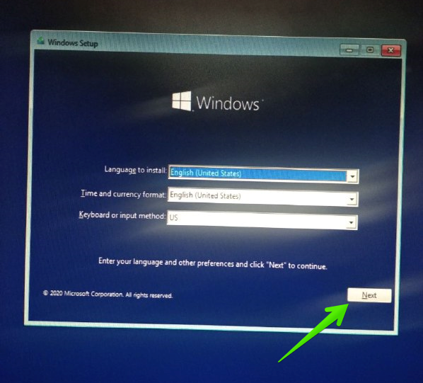 Bootable windows 10 disk